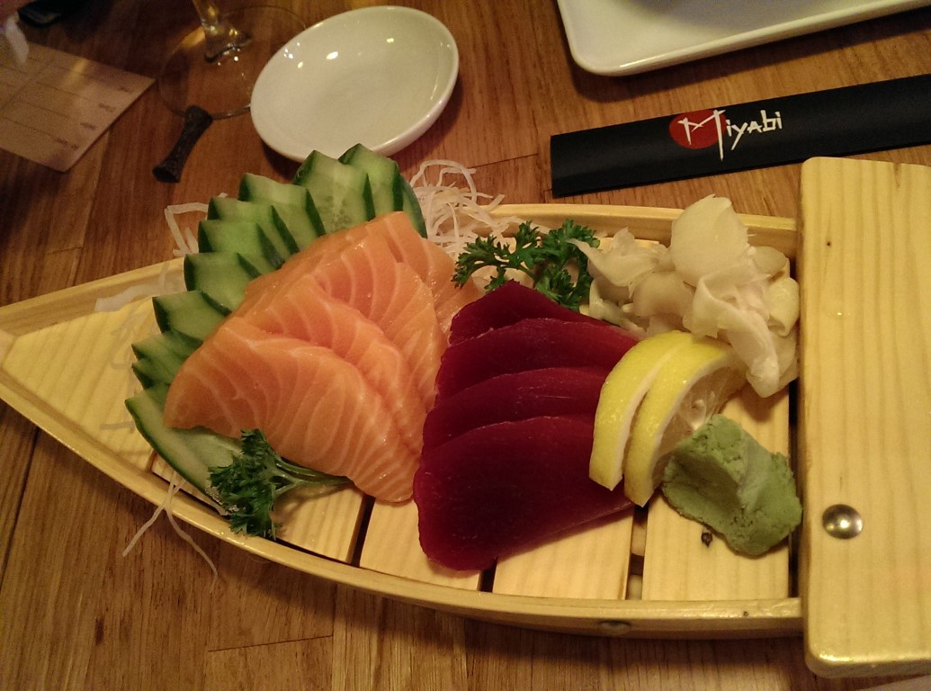 Somon ve Ton Sashimi