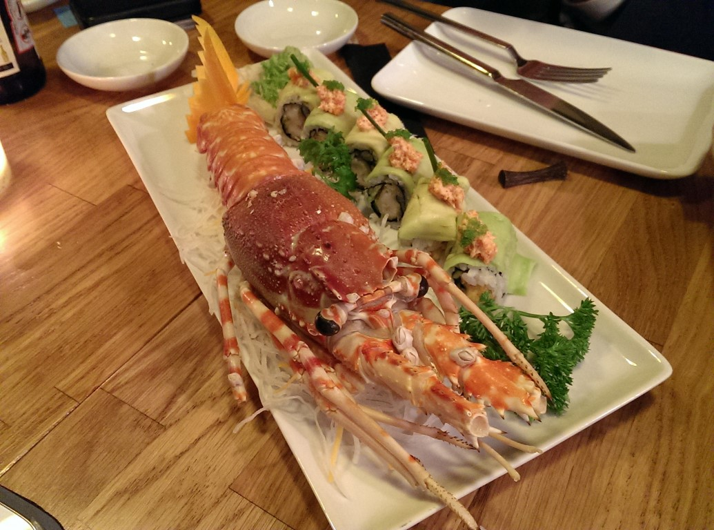 Lobster Dynamite Roll