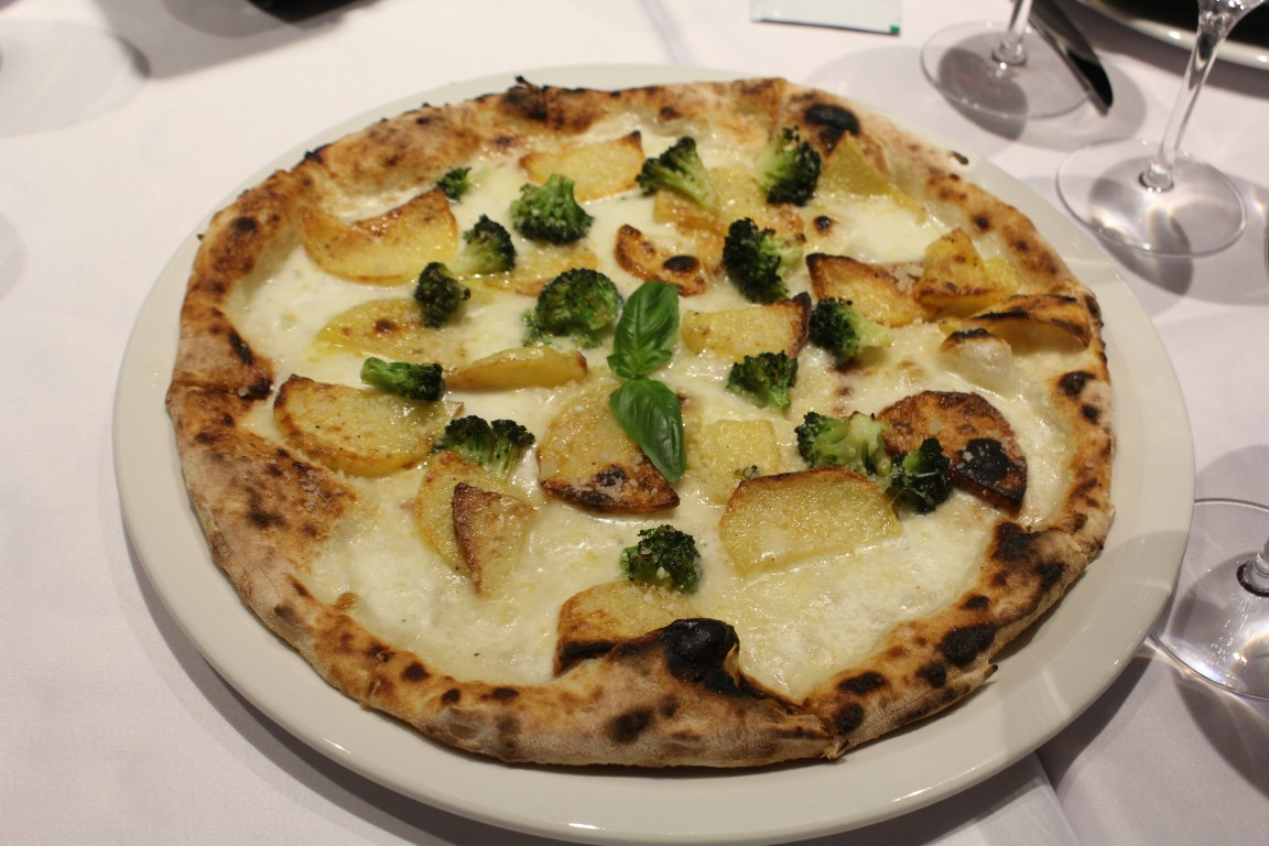 Patatesli Pizza