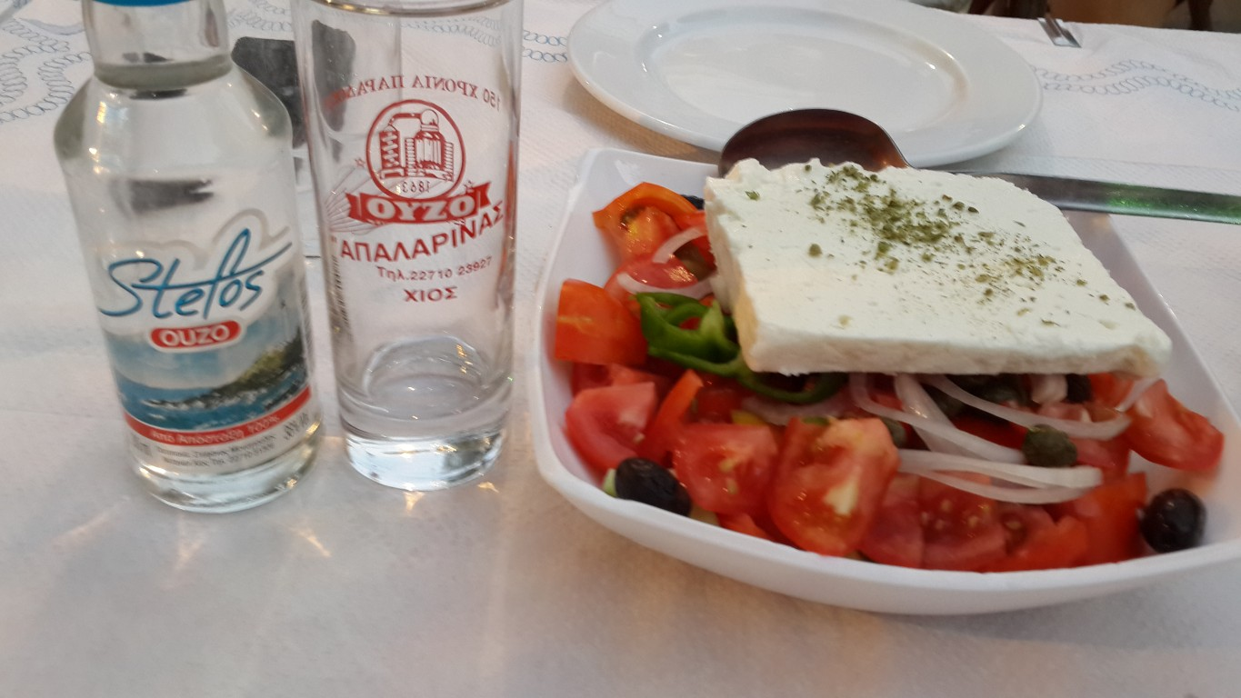 Greek Salata ve Uzo