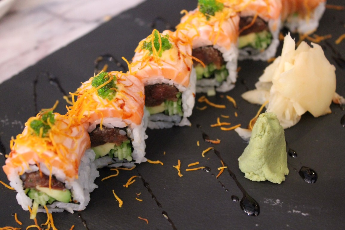 Spicy Tuna Roll (yandan)
