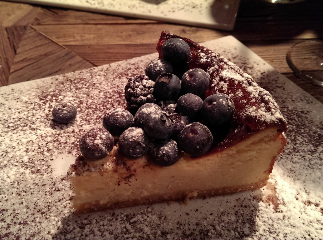 Yaban Mersinli New York Cheesecake