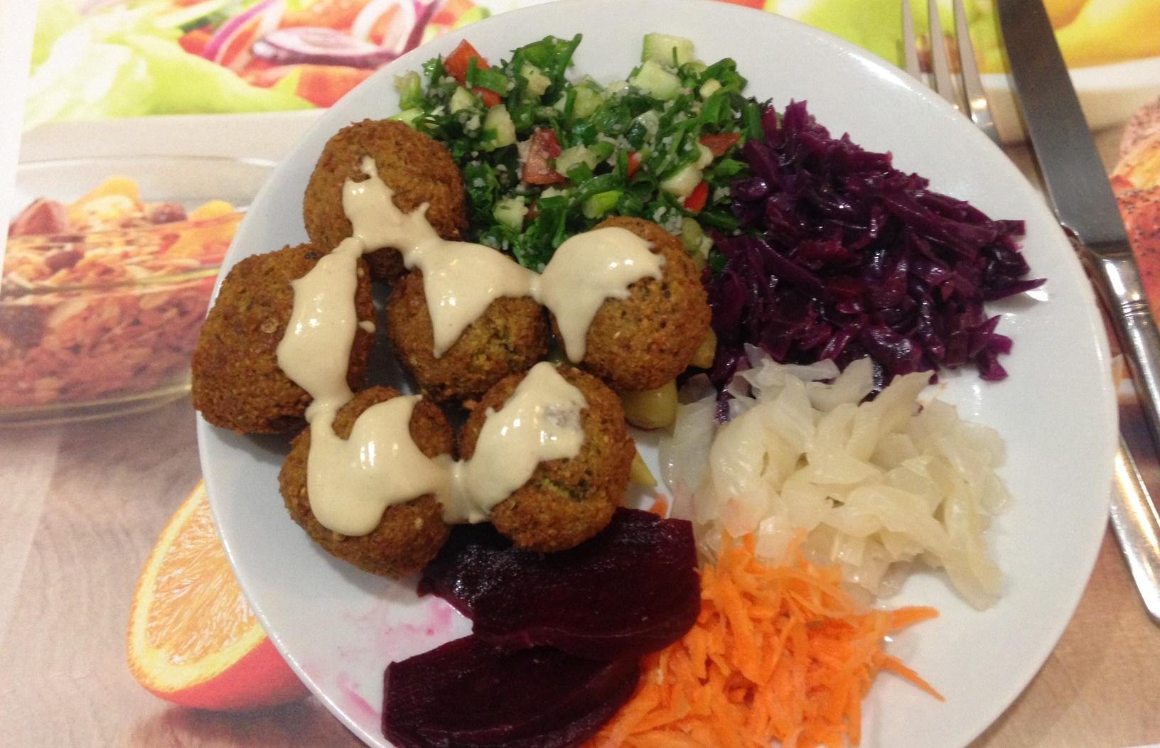 Jeni Falafel & Rolls - Şaşkınbakkal - İSTANBUL